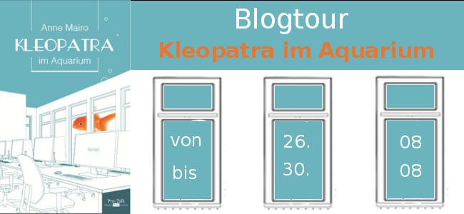 Kleopatra im Aquarium Spread and Read Blogtour